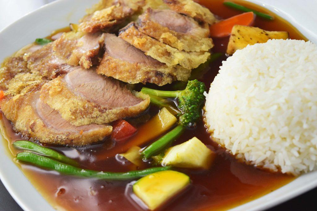 R1 Reis-Teller mit Ente